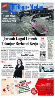 Cover Tribun Medan [Pagi] 21 Februari 2018