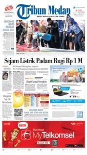 Cover Tribun Medan [Pagi] 26 Februari 2018