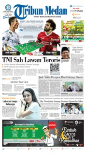 Cover Tribun Medan 26 Mei 2018