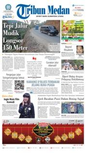 Cover Tribun Medan 10 Juni 2018