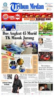 Cover Tribun Medan 11 Juni 2018