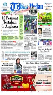 Cover Tribun Medan 12 Juni 2018