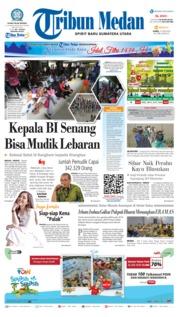 Cover Tribun Medan 14 Juni 2018