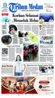 Cover Tribun Medan 19 Juni 2018