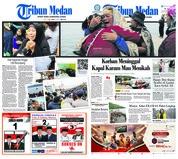 Cover Tribun Medan 20 Juni 2018