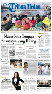 Cover Tribun Medan 23 Juni 2018