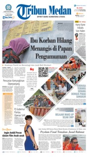 Cover Tribun Medan 24 Juni 2018