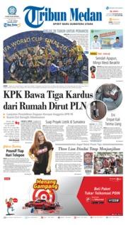 Cover Tribun Medan 16 Juli 2018