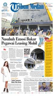 Cover Tribun Medan 21 Juli 2018