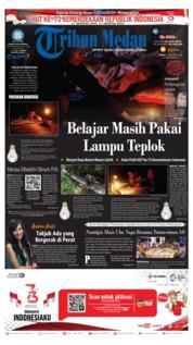 Cover Tribun Medan 17 Agustus 2018