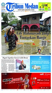 Cover Tribun Medan 17 September 2018