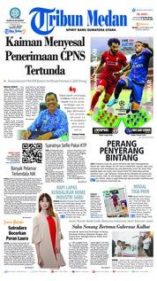Cover Tribun Medan 18 September 2018