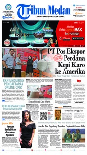 Tribun Medan Cover 20 September 2018
