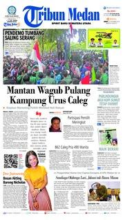 Cover Tribun Medan 21 September 2018