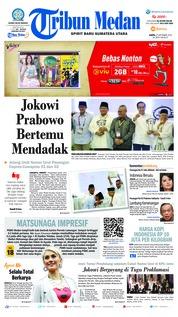 Cover Tribun Medan 22 September 2018