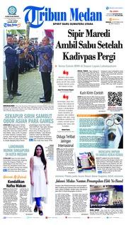 Cover Tribun Medan 23 September 2018