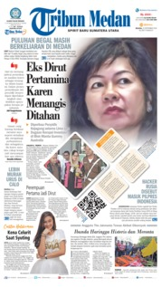 Cover Tribun Medan 25 September 2018