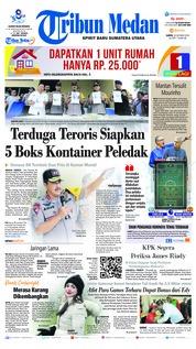 Cover Tribun Medan 20 Oktober 2018