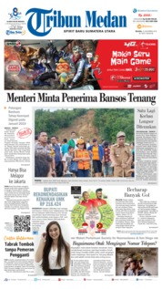 Cover Tribun Medan 13 November 2018