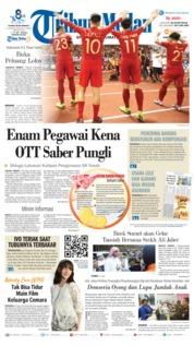 Cover Tribun Medan 14 November 2018