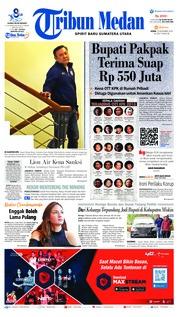 Tribun Medan Cover 19 November 2018