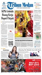 Cover Tribun Medan 21 November 2018