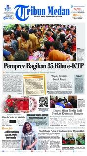 Cover Tribun Medan 12 Desember 2018