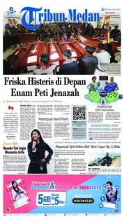 Cover Tribun Medan 15 Desember 2018