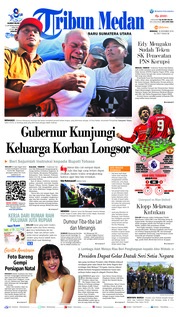 Cover Tribun Medan 16 Desember 2018
