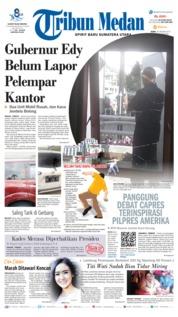 Cover Tribun Medan 16 Januari 2019
