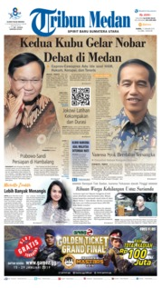 Tribun Medan Cover 17 January 2019