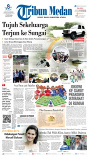 Cover Tribun Medan 19 Januari 2019