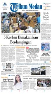 Cover Tribun Medan 20 Januari 2019