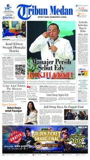 Cover Tribun Medan 21 Januari 2019