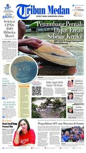Cover Tribun Medan 23 Januari 2019