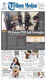 Tribun Medan Cover 16 February 2019