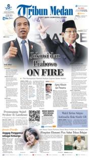 Tribun Medan Cover 17 February 2019