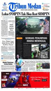 Tribun Medan Cover 21 February 2019