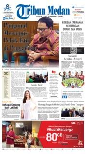 Cover Tribun Medan 12 Maret 2019