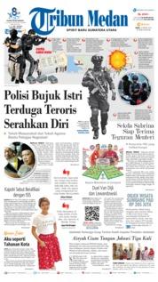 Cover Tribun Medan 13 Maret 2019