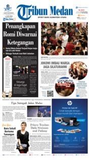 Cover Tribun Medan 16 Maret 2019