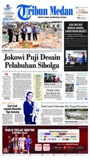 Cover Tribun Medan 18 Maret 2019