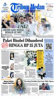 Cover Tribun Medan 20 Maret 2019