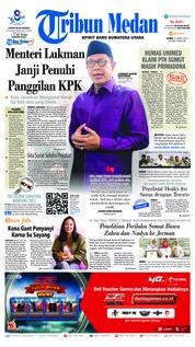 Cover Tribun Medan 21 Maret 2019