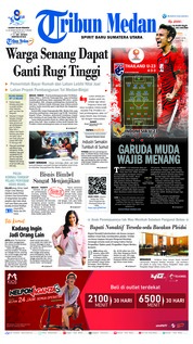 Tribun Medan Cover 22 March 2019