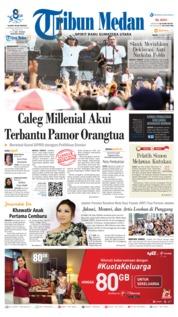 Cover Tribun Medan 25 Maret 2019