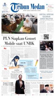 Cover Tribun Medan 01 April 2019
