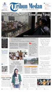 Cover Tribun Medan 02 April 2019