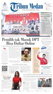 Cover Tribun Medan 04 April 2019