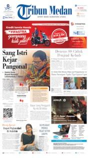 Cover Tribun Medan 05 April 2019